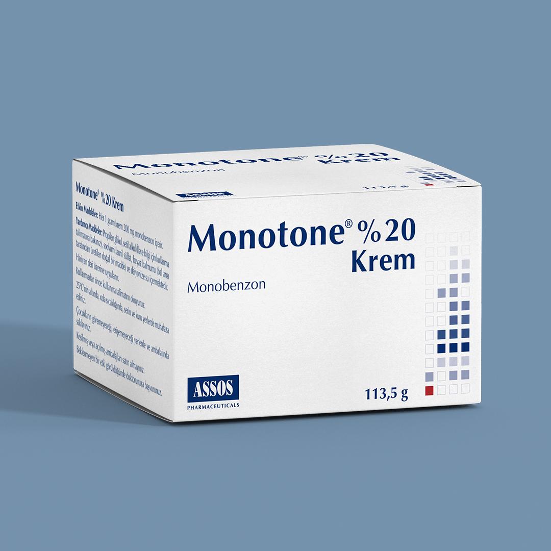 monotone-krem
